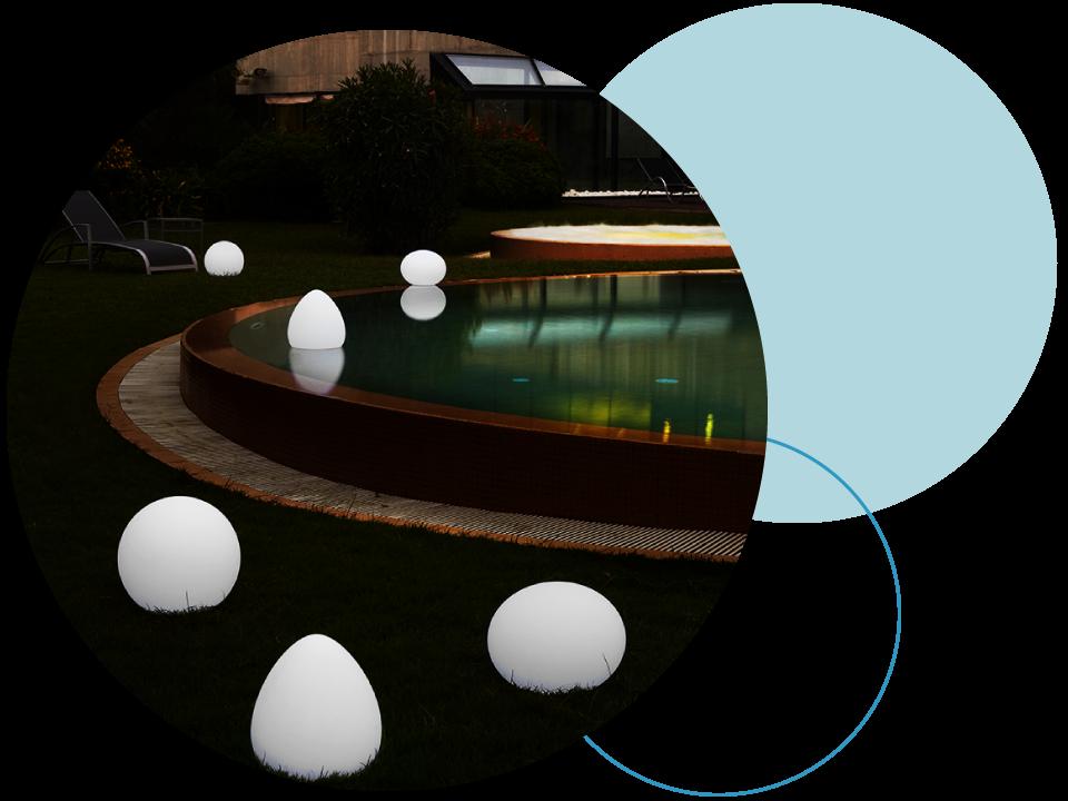 arredamento piscine luci 3