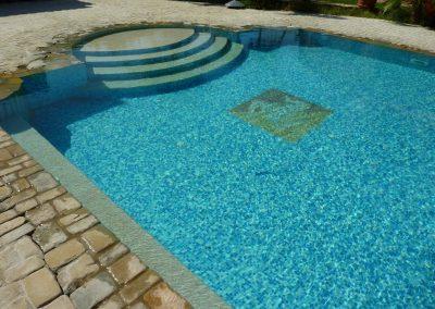 particolari piscina scenografica