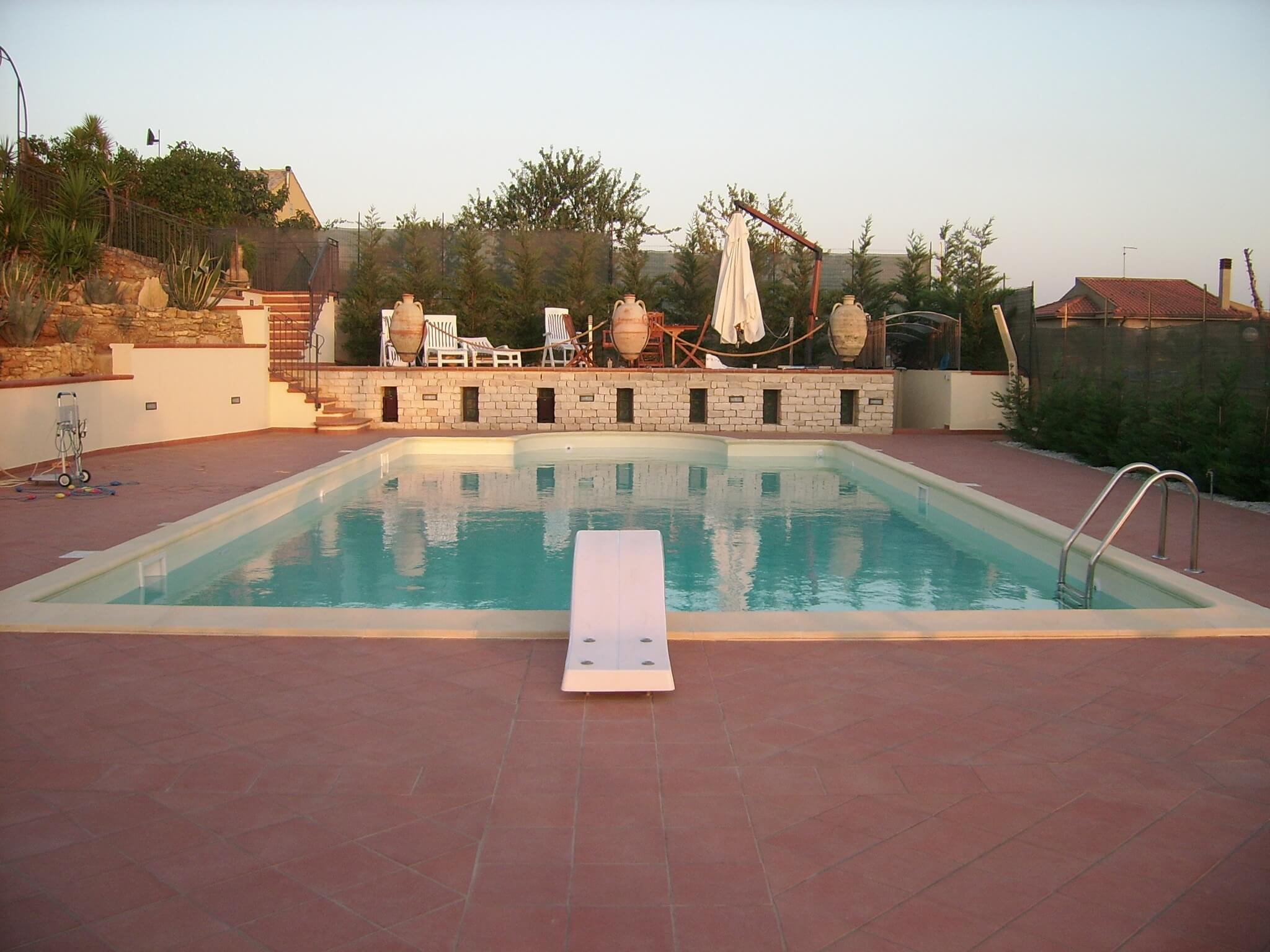 piscine in acciaio interrate