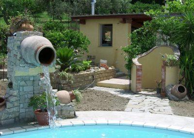 elementi scenografici piscina