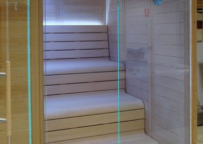 Led in sauna