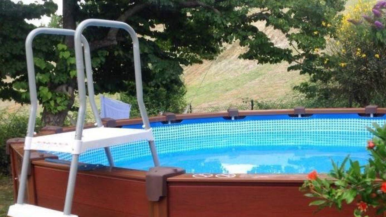 Piscina Da Esterno Fuori Terra ≈ piscina fuori terra autoportante: la praticità di una