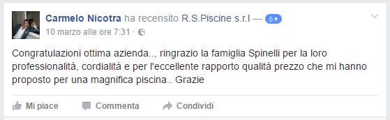 recensione facebook piscine sicilia