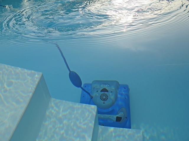 robot da piscina